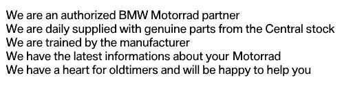 BMW Motorrad Dealer Advantages