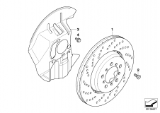 Brake Disc Ventilated Left