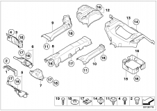 51 48 7 053 474 Front Wall Heat Resistant Plate