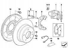 Repair Kit Brake Pads Asbestos-Free