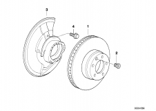 Brake Disc Ventilated