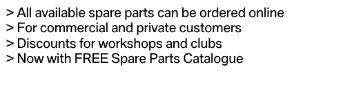 BMW Genuine Parts with free spare parts catalog