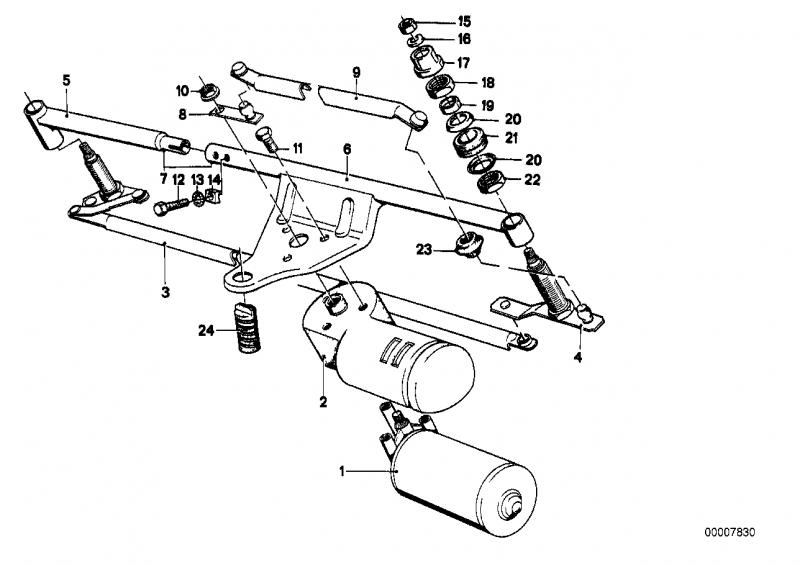 61611386157 wiper motor bmw order spare part online