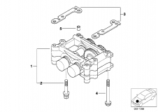11 27 1 433 604 Housing With Compensating Shafts