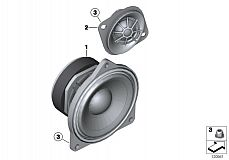 65 13 0 420 684 Speaker Hifi Mid-Range