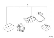 65 60 0 021 254 Installation Kit Alarm System