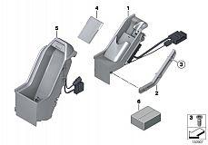 65 15 0 154 311 Bracket-Telephone Mounting