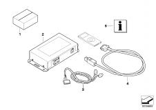 65 15 0 428 921 Bracket Ipod Interface