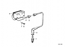 12 13 1 244 426 Ignition Coil