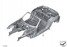 41 10 2 180 226 Body Skeleton With Chassis Number