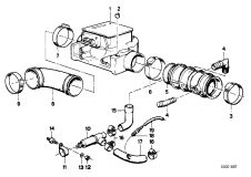 11 60 1 276 825 Pipe Clamp