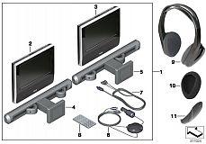 65 12 2 209 346 Dvd System Tablet