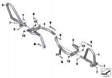 11 84 8 548 457 Engine Roll Bar Authority Vehicles