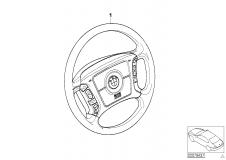 65 71 0 021 256 Retrofit Kit Multi-Functsteering Wheel