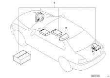 65 60 0 021 150 Installation Kit Alarm System