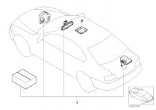 65 60 0 021 519 Installation Kit Alarm System