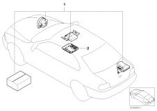 65 60 0 136 501 Installation Kit Alarm System