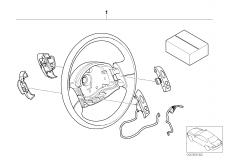 65 71 0 029 494 Retrofit Kit Multifunct Steering Wheel