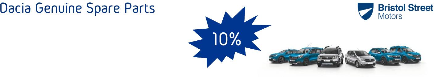 Dacia 10% Discounts