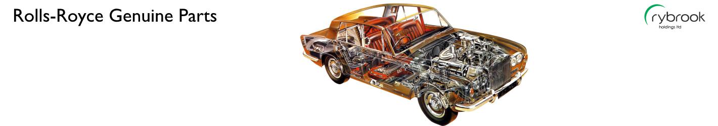 Rolls Royce Genuine Spare Parts Catalog